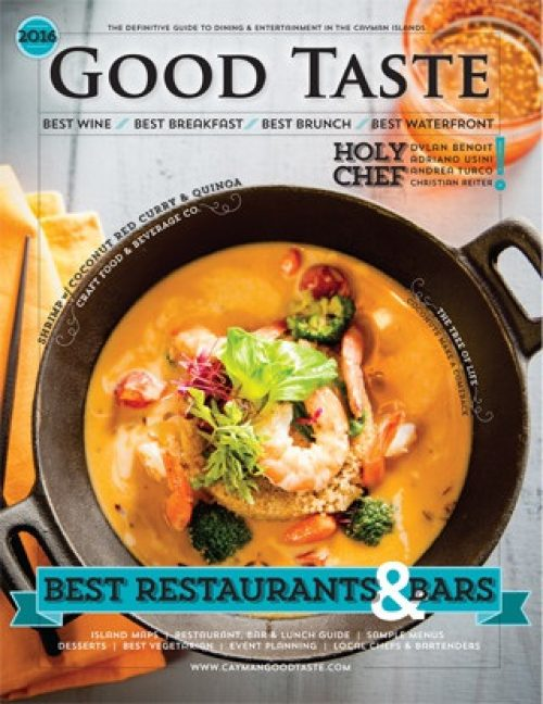 Caymangoodtaste2016cover